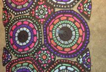 Summer Mosaic Julie Yeager Crochet Afghan / Summer Mosaic crochet afghan photos from any users