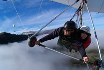 Hang Gliding / When once you have tasted flight, you will forever walk the earth with your eyes turned skyward, for there you have been, and there you will always long to return. / by Gregg Bryant