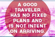 Best of Travel Quotes / curated by a travel addict