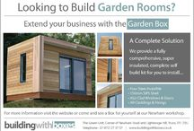 Building with Boxes / Looking to build a garden room or extend your business? Look no further... www.buildingwithboxes.co.uk Give us a call 01872 278875
