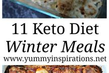 Keto meals various