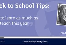 Back to School / Top tips from educational experts to help you at the start of term.  Find out more at: https://global.oup.com/education/primary/back-to-school/