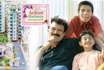 ARIHANT HARMONY / Arihant Harmony, a new address, where happiness surrounds you, elegant living makes you feel proud, nature invites you to relax and where every moment you find life in its new charm.
