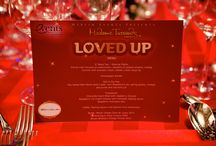 Madame Tussauds Loved Up  / To celebrate the iconic love of some of our figures, on 14th February we hosted our Loved up pop up restaurant at Madame Tussauds in association with BRIT Award Caterers Payne and Gunter.  / by Merlin Events London