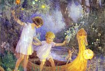 The Boat To Fairyland by Margaret Tarrant