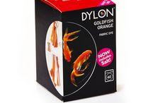 Altın Balığı Turuncusu - Goldfish Orange- Fabric Dye With Salt