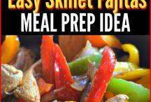 Meal Prep for weekdays