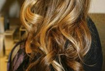 Yummy Shades of Brunette. / Shades of brown; from bronde to almost black.