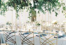 Elegant green wedding - Inspiration
