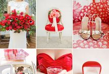 Cranberry Red: Wedding Color / Cranberry Red: Wedding palette