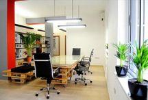 Office Pallets Furniture / DIY wooden pallet office furniture and Pallet office table and pallet office desk ideas.