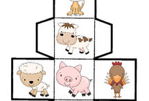 Farm / Lessons and activities about farm life for prek, kindergarten, first grade, and second grade classrooms.