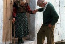 Old men and weman