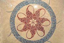 ÇİNİ, HAT, MİNYATUR , TEZHİP / Cini minyatur sanati / by Banu Sezer