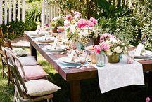 gather around the table! / by Tammy McCutchen