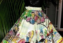 Mexican circle skirts / Vintage 50s Mexican handpainted full circle skirt, label: Estvdios Taxco ,SA