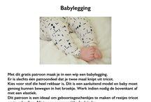 Baby kinderkleding naaien