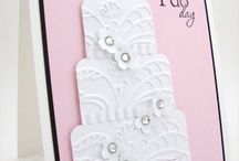 Wedding/engagement card ideas / by Michele Dye-Thompson-Yates