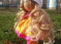 Куклы / Создание кукол. Текстильные куклы.