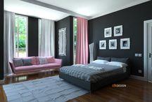 interior design / yatak odası