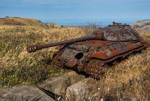 Rusty Tanks / Rusty tanks - ideas for dioramas.