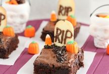 Not-So-Spooky Treats + Crafts / If you dare... take a peek at these frightfully delicious treats and spooktacular Halloween crafts!