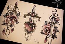 sztylet roza