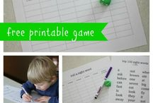 Sight Words and Early Reading Activities / Fun activities for learning and practicing sight words and early reading skills.