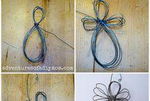 ståltråd figurer