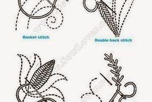 Вышивка разная, техники