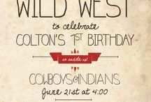 Cowboy and Indian party