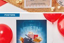 Birthday Ideas-Movie Theme