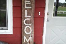 Barn wood crafts / by Margritha Larson