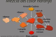 técnicas del color