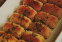 Pieczone krokiety z ziemniakow