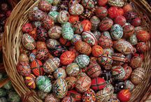 Eastern Europe - Pysanky, Onion Domes, and Matryoshka Dolls / Everything from Ethnic Eastern Europe - Poland, Russia, Ukraine, Romania, and Bulgaria