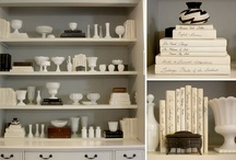 Bookcase Vignettes / Here's a great tutorial for styling bookcases. http://www.centsationalgirl.com/2011/06/analysis-of-a-well-styled-bookcase/