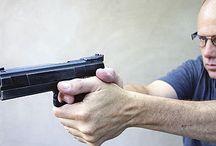 권총 사격 자세