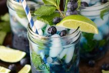 Drinks and lemonade