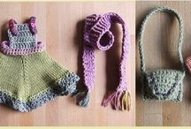 Some of my Lovely Crochet and knitting. / Some of my work. Loving every stitch.