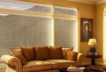 Window Fashions / Window Treatments including premium Blinds, Valances, and Shades.
