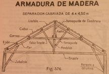 Estructuras techo madera