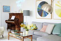 Neon Lights / Neon lights- Art in the Home