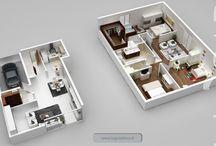Plans de Vente 3D / Plans de vente 3D utilisez dans le cadre d'une transaction immobilière. Logiciel utilisé: www.logicieldeco.fr