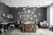 industrial decor / by Margaret Yates