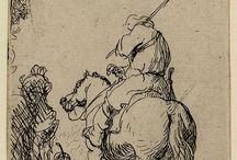 Rembrandt - Desenho /Drawing