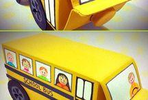 milk box crafts