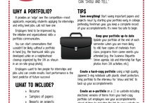 College Tip Sheets