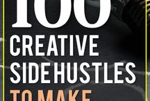 Creative Side Hustles / Creative side hustle ideas to get started creating your own financial success.