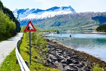 Summer in Northern Norway / Pictures from my hikes during summer in Northern Norway